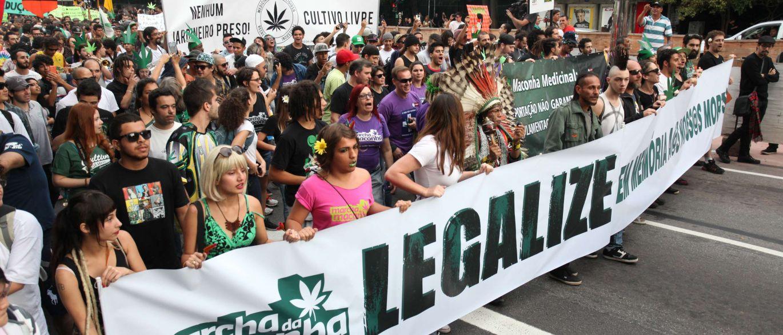 Marcha da Maconha, avenida Paulista, São Paulo