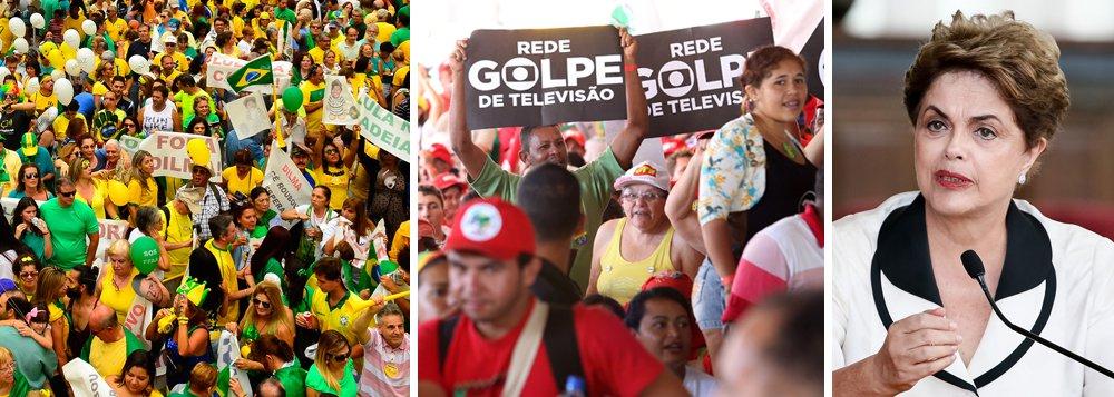 Durante as manifestações que levaram ao golpe de 2016, convocadas pela Globo, muitos analistas questionavam o fato de brasileiros saírem às ruas com camisas da Confederação Brasileira de Futebol; agora, a investigação norte-americana sobre os escândalos da Fifa revela ao mundo a gigantesca rede de corrupção privada que une empresas como a Globo e a negociação de direitos de transmissão esportiva; tudo isso mostra o caldo de cultura que esteve por trás do golpe de 2016, em que, em nome do combate à corrupção, os brasileiros saíram às ruas para derrubar uma presidente honesta e instalar uma quadrilha no poder; reveja debate na TV 247 sobre o tema