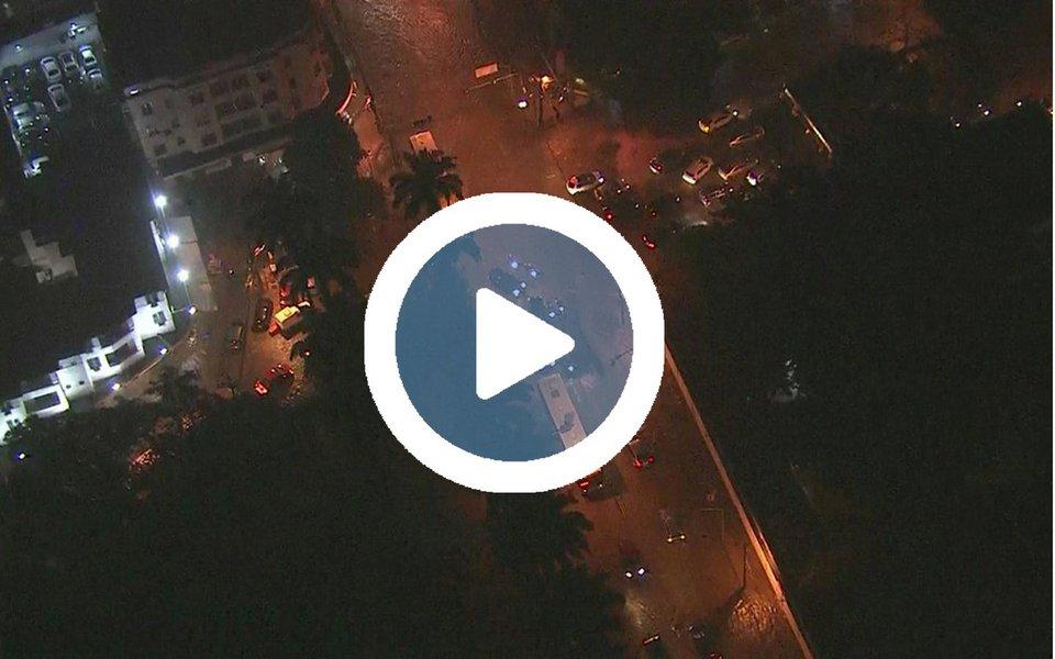 O Rio de Janeiro permanece em estágio de atenção em razão da possibilidade de mais chuvas fortes nas próximas horas em alguns pontos da cidade; a chuva voltou a cair sobre a capital; a prefeitura registrou o recorde de chuva em um único dia de junho nos últimos 20 anos: 247 milímetros na Estação Pluviométrica do Alto da Boa Vista no espaço de 24 horas