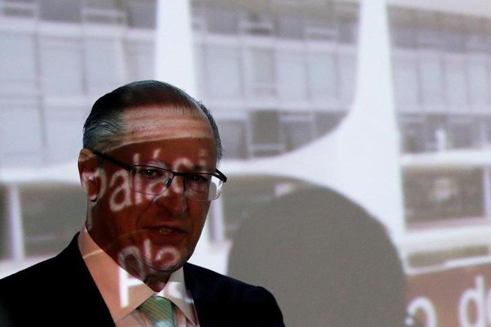 Alckmin durante reunião de governadores no Palácio do Planalto 22/11/2016 REUTERS/Ueslei Marcelino