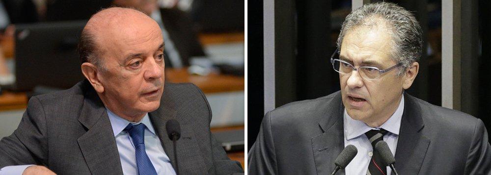 Medida Provisória 795, que estabelece isenções fiscais no valor de R$ 1 trilhão para o setor de óleo e gás, beneficia principalmente as empresas multinacionais, interessadas no pré-sal brasileiro; sem explicações, o senador José Serra (PSDB-SP), que defendia a aprovação da medida antes de uma nova rodada de leilões do pré-sal deixou a comissão mista que analisa o texto; líder do PT, o deputado Carlos Zarattini (PT-SP), que também faz parte da análise da MP, se disse surpreso, mas afirmou que Serra fez muito bem