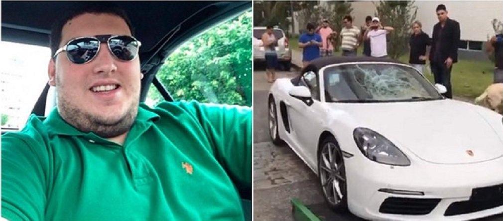 Rodolpho Carlos da Silva foi preso na segunda-feira (24), em sua residência, em João Pessoa, sem esboçar reação; ele é herdeiro de uma família tradicional paraibana, que é dona da afiliada da Globo no estado; Rodolpho é acusado de atropelar, no dia 21 de janeiro, agente de trânsito Diogo Nascimento, durante blitz da Lei Seca; Porsche que Rodolpho dirigia passou por cima do agente, que não resistiu e morreu