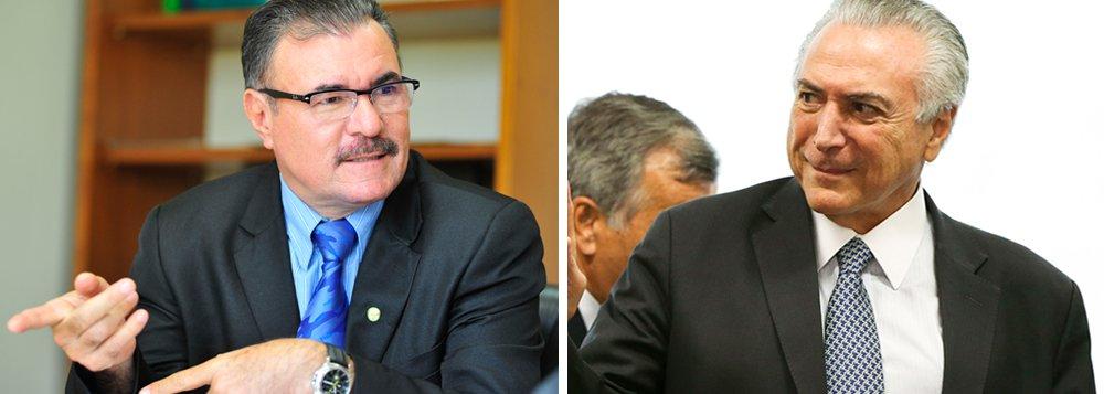 Assim é a trajetória política de Almeida e Temer: Um é o primeiro presidente brasileiro denunciado no exercício do cargo. Já o ex-prefeito de Maceió tem um rosário de mudanças de atitudes e de relações