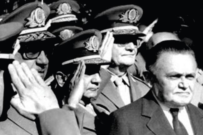 No período da ditadura militar, o Brasil conheceu uma sucessão de líderes tiranos