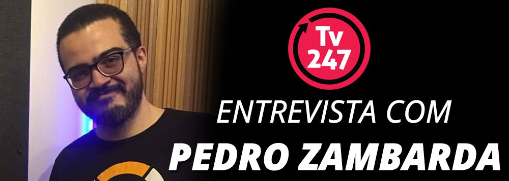 A TV 247 conversa às 15h, ao vivo, com o jornalista Pedro Zambarda, especializado em tecnologia e que e acaba de lançar um livro sobreos bastidores e as estratégias por trás do sucesso de grandes empresas brasileiras na internet; assista pelo Facebook e Youtube e participe com perguntas