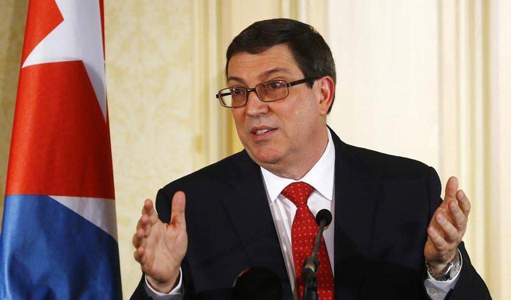 """O chanceler de Cuba, Bruno Rodríguez, classificou como """"totalmente falsos"""" os supostos ataques sônicos que afetaram pelo menos 24 diplomatas dos Estados Unidos em Cuba, e denunciou uma """"manipulação política"""" do ocorrido, que tem como objetivo, disse, """"prejudicar as relações bilaterais"""""""