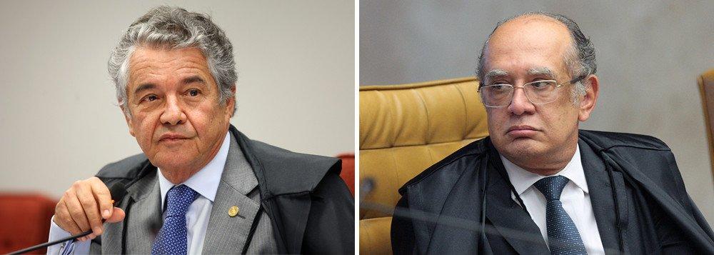 """O ministro do Supremo Tribunal Federal Marco Aurélio Mello escancarou a inimizade com o colega de Corte Gilmar Mendes; """"Em relação a mim ele passou de todos os limites inimagináveis. Caso estivéssemos no século XVIII, o embate acabaria em duelo e eu escolheria uma arma de fogo, não uma arma branca"""", disse Mello, em entrevista à Rádio Gauíba nesta quarta-feira 6"""