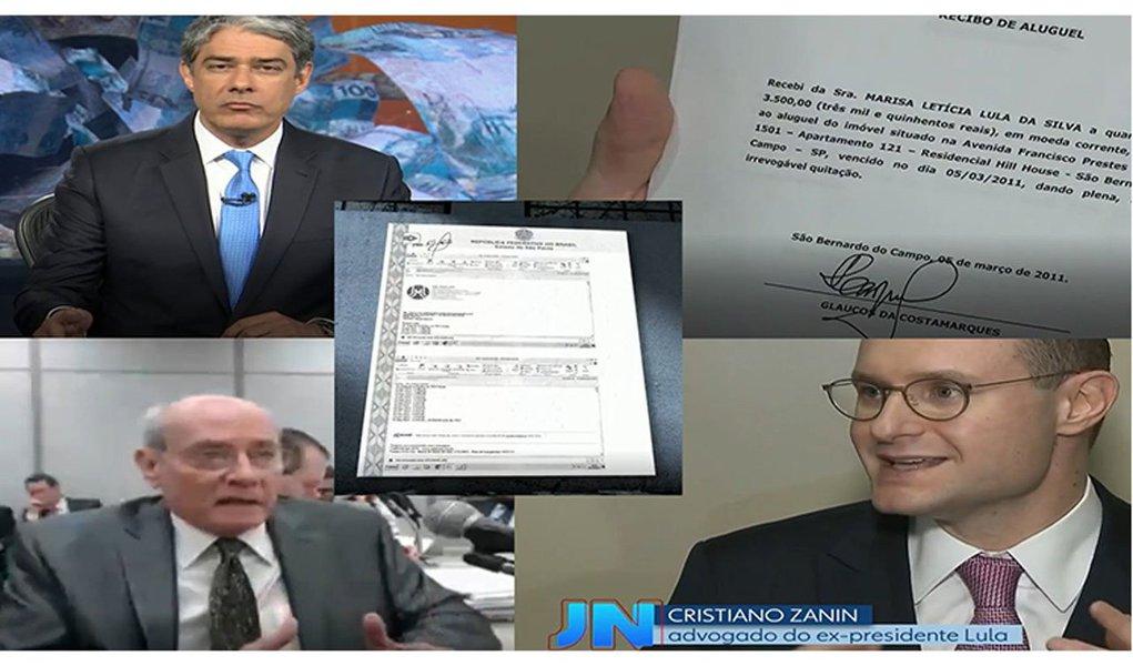 Golpe de misericórdia na polêmica reside em informação fornecida pela defesa do ex-presidente Lula de que dispõe dos depósitos bancários de pagamento do aluguel entre 2011 e 2015