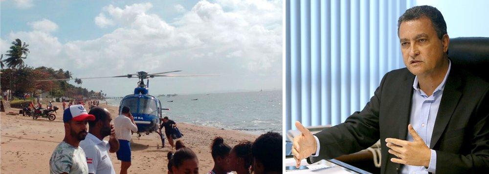 Em nota, o prefeito de Salvador, ACM Neto, e o governador da Bahia, Rui Costa, lamentaram o acidente que deixou 22 mortos; governador decretou luto oficial de três dias devido à tragédia; lancha transportava 129 pessoas e virou durante a travessia entre Mar Grande, na Ilha de Itaparica, em Salvador