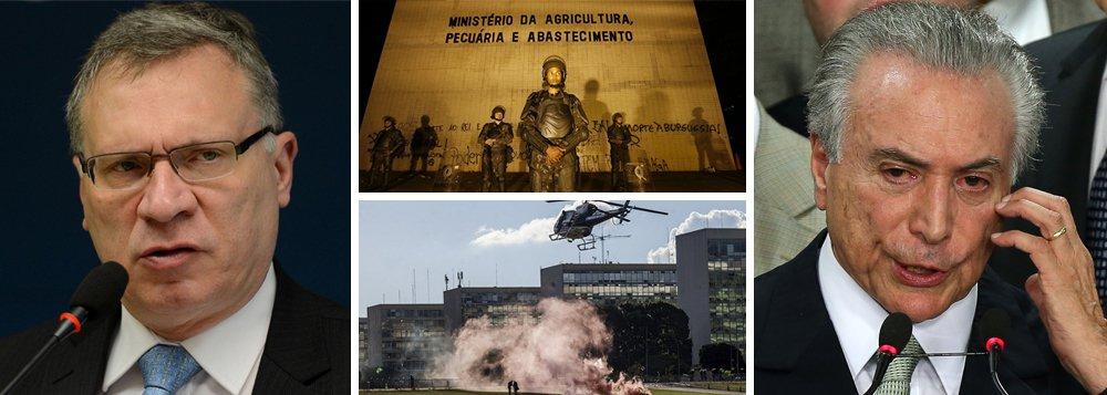 """Em entrevista ao 247, o ex-ministro da Justiça do governo legítimo da presidente Dilma Rousseff define como um """"típico crime de responsabilidade"""" a decisão do governo Temer de assinar um decreto que autoriza o emprego das Forças Armadas para garantir a lei e a ordem em todo o Distrito Federal; """"Trata-se de uma atitude extremamente grave. A meu ver merece uma CPI, uma representação contra o presidente da República por crime de responsabilidade e que seja instaurado pela PGR um inquérito por abuso de autoridade. Se a moda pega, as Forças Armadas viram guarda de esquina"""", diz; para ele, o grupo que depredou prédios dos ministérios é formado por """"agentes provocadores colocados por esse governo"""" no protesto"""