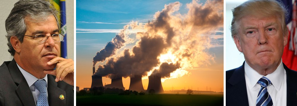 """Senador e presidente da Comissão Mista sobre Mudanças Climáticas do Congresso Nacional, Jorge Viana (PT-AC), criticou o anúncio feito pelo presidente dos Estados Unidos, Donald Trump, de romper com o acordo sobre a redução de gases de efeito estufa, responsável pelo aquecimento global, como havia sido definido no chamado acordo de Paris;""""Isso é uma situação seríssima. O mundo inteiro está discutindo"""", comentou. """"Quem mais vai confiar em algum tipo de acordo com a nação mais poderosa do mundo?"""", questionou; os EUA, juntamente com a China, são os maiores emissores de gases causadores do efeito estufa"""