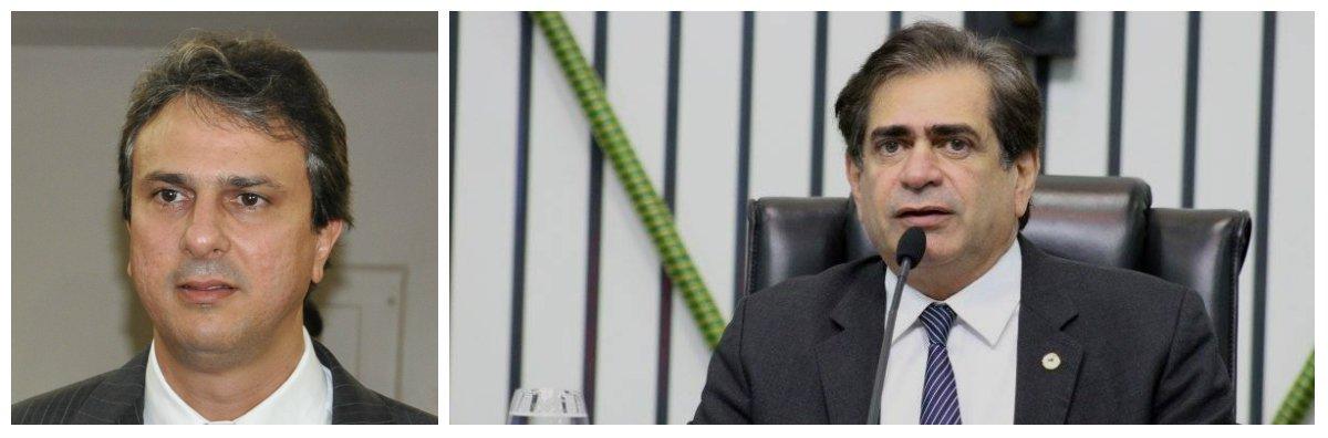 """O presidente da Assembleia Legislativa do Ceará, Zezinho Albuquerque (PDT), indeferiu nesta quinta-feira (25) o pedido de impeachment do governador Camilo Santana (PT) protocolado pelo deputado estadual Capitão Wagner (PR). De acordo com o presidente da Casa, a denúncia não deveria ser recebida em """"face de carência de justa causa"""". O parlamentar baseou-se nas delações da JBS de recebimento de propina por parte do ex-governador Cid Gomes para financiar a campanha do então candidato Camilo, em 2014"""