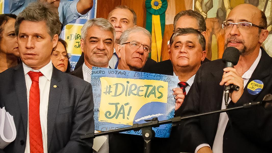 Senador Humberto Costa participa da criação de frente suprapartidária pela Diretas Já e Fora Temer