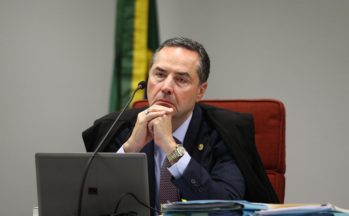 Ministro Roberto Barroso preside sessão da 1ª turma do STF