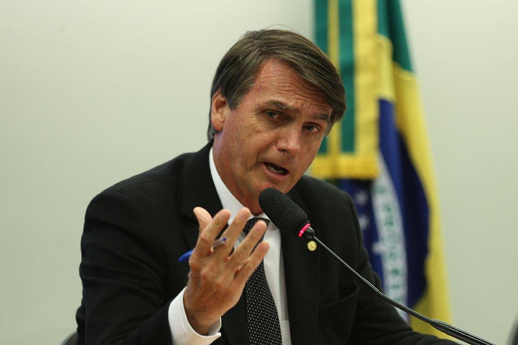 Brasília - Conselho de Ética rejeita processo contra o deputado Jair Bolsonaro por citar Brilhante Ustra (Fabio Rodrigues Pozzebom/Agência Brasil)