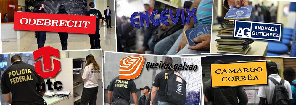 Em três anos de operação, a Lava Jato deixou um rastro de 740 mil demissões; cerca de 300 mil nas empreiteiras envolvidas — Odebrecht, Andrade Gutierrez, Camargo Corrêa, Engevix, Queiroz Galvão e UTC; o resultado, de acordo com levantamento do Valor Econômico, representa um duro golpe no setor e na economia brasileira; em termos absolutos, o saldo mais negativo foi o da Andrade Gutierrez, que fechou 144,9 mil dos 251,9 mil postos que mantinha em 2013;como os resultados de 2016 ainda não foram totalmente divulgados, é possível que tenha havido ainda mais demissões; no setor de óleo e gás, outro que reduziu drasticamente seu tamanho com a Lava Jato, a Associação das Empresas de Serviços de Petróleo estima que a atividade perdeu 440 mil empregos entre 2013 e 2016