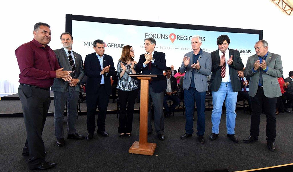 Governador Fernando Pimentel participa do Fórum Regional de Itamarandiba. 31-08-2017- Itamarandiba-Mg Foto: