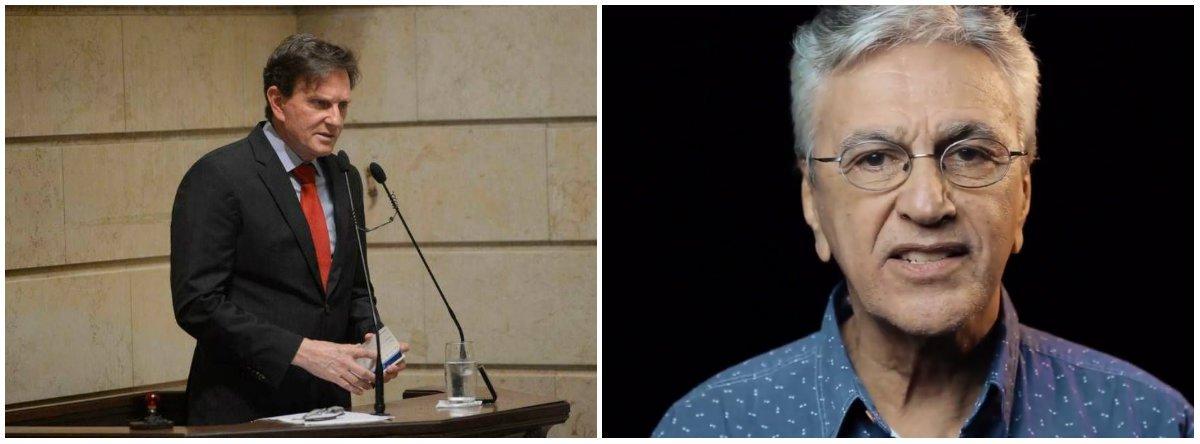 """Músico comenta as declarações do prefeito do Rio de Janeiro, Marcelo Crivella, sobre a exposição Queermuseu e diz que o MBL é """"conservador das desigualdades, da opressão e do horror""""; assista"""