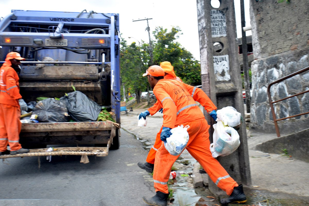 Limpeza urbana, Recife, lixo