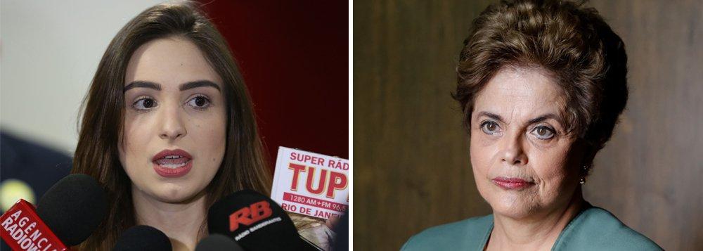 """Ex-militante do PSC, a jornalista Patrícia Lélis resumiu a direita brasileira a """"propagação de ódio"""" e do fascismo e elogiou a presidente legítima Dilma Rousseff; """"Para começar a dizer qualquer coisa, tenho que pedir minhas mais sinceras desculpas. Fiz parte e fui cúmplice de um golpe. O Brasil deve um pedido de desculpas a ela"""", afirma"""