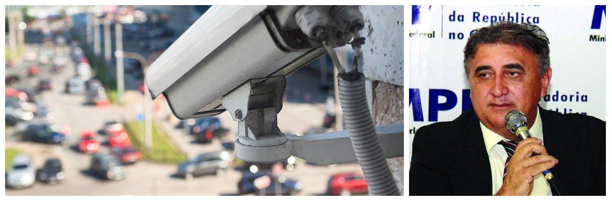 O Procurador Oscar Costa Filho, doMinistério Público Federal no Ceará (MPF/CE) entrou com ação na Justiça Federal pedindo a suspensão da fiscalização do trânsito de Fortaleza por videomonitoramento. Na ação o procurador também pede a nulidade de infrações já registradas e devolução de multas pagas