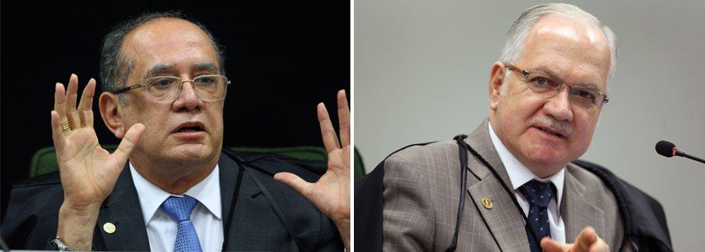 """A reviravolta na delação do Grupo J&F provocou um embate nesta terça-feira entre os ministros do Supremo Tribunal Federal Gilmar Mendes e Edson Fachin, relator da Lava Jato; Gilmar afirmou que o STF vive """"vexame"""" neste caso, e sugeriu que o nome de Fachin poderá ficar """"manchado"""" diante das polêmicas envolvendo as delações e investigações do esquema de corrupção, e que o episódio da JBS deve ter provocado constrangimento ao colega; na réplica, Fachin disse que tem julgado com as provas dos autos e que está """"com a alma em paz"""""""