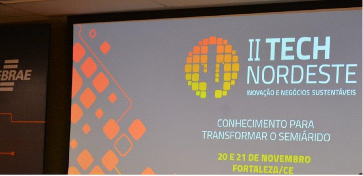 """O Sebrae-Ce abriu, na manhã de hoje (20), II Fórum Tech Nordeste- Fórum de Ciência, Tecnologia e Inovação para o Desenvolvimento Sustentável da Região Nordeste. O Tech Nordeste prossegue até amanhã, com a realização de encontro de negócios, oficinas de prototipagem, workshop para empreendedores e startups eexposição de tecnologias ligadas a cada um dos eixos temáticos evento -""""Cidades inteligentes"""", """"Tecnologias sociais"""", """"Energia limpa"""" e """"Recursos Hídricos"""""""