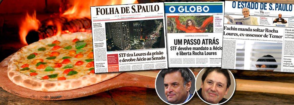 Era inevitável: depois que a Lava Jato fugiu do script original, que previa a destruição do PT e do ex-presidente Lula, e passou a atingir também as forças golpistas – leia-se o PMDB e de Michel Temer e o PSDB de Aécio Neves – o Supremo Tribunal voltou a ser garantista; num mesmo dia, o senador Aécio Neves (PSDB-MG) teve seu mandato devolvido e o homem da mala Rodrigo Rocha Loures foi solto; constrangidos, os jornais que apoiaram o golpe agora retratam esse novo velho Brasil