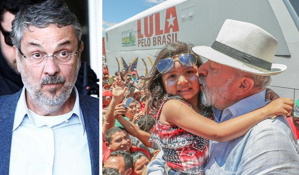 Palocci está preso há um ano em Curitiba e em junho passado foi condenado a 12 anos, dois meses e 20 dias de prisão em regime fechado pelos crimes de corrupção passiva e lavagem de dinheiro. É nesse contexto que ele deu com a língua nos dentes