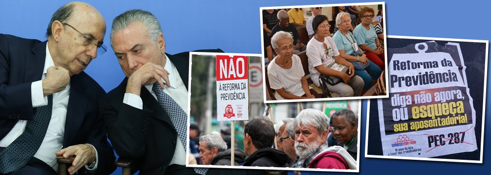 """""""Uma das medidas mais duras da reforma previdenciária é o aumento do tempo mínimo de contribuição de 15 para 25 anos. Este aumento de mais 10 anos significa, para milhões de brasileiros, um adeus à esperança de um dia se aposentar"""", diz a colunista Tereza Cruvinel"""