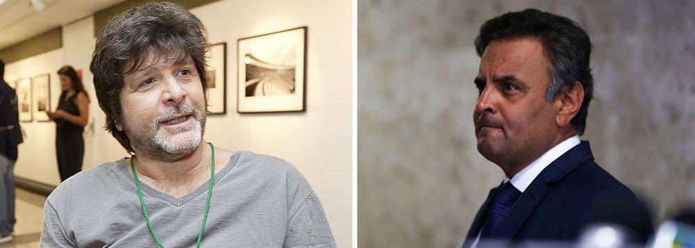 """Jornalista e escritor Marcelo Rubens criticou a decisão do PSDB de não abandonar o governo de Michel Temer após as denúncias de corrupção, associação criminosa e obstrução da Justiça que implodiram o governo e resultaram no afastamento de Aécio Neves do Senado; """"PSDB decidiu não abandonar o governo depois que viu que estava em peso na mesma delação que Temer"""", disse Rubens Paiva em sua conta no Twitter"""