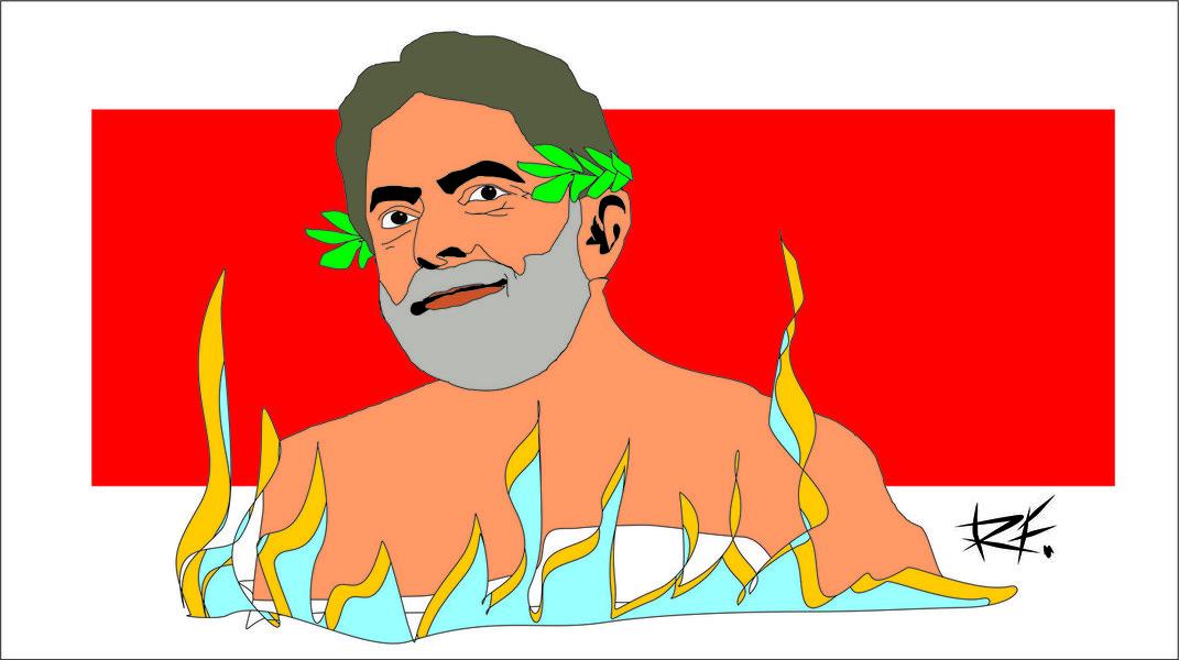 Quem plantou a mudança a todo custo, agora colhe os dissabores e alto custo desse governo golpista. Ruim com Dilma, pior com Temer e melhor só com ele... o Lula do Brasil