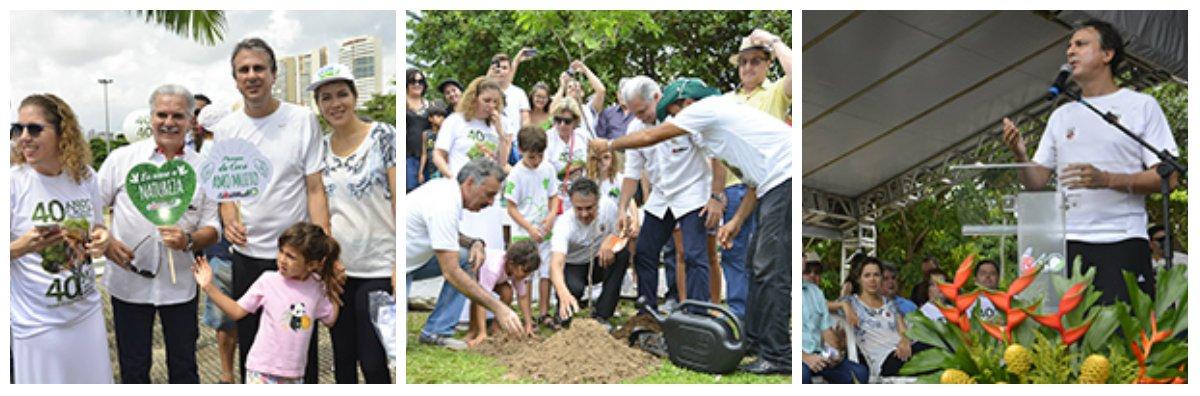 A demarcação dos limites do Parque do Coco é uma luta antiga dos movimentos sociais da área ambiental.O anúncio da demarcação do Parque do Cocó foi feito durante a solenidade de assinatura de um Termo de Cooperaçãoentre o Estado e a Empresa C.Rolim Engenharia, como parte doPrograma Ceará Mais Verde e das comemorações dos 40 anos da empresa. Segundo o governador o decreto deverá ser assinado no início de junho. Em 5 de junho é comemorado Dia Mundial do Meio Ambiente, instituído pela ONU em 1972