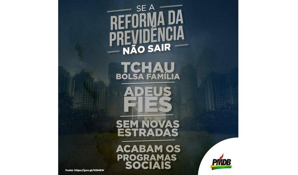 Como disse o ex-presidente Luiz Inácio Lula da Silva, remédio para a Previdência social é crescimento econômico
