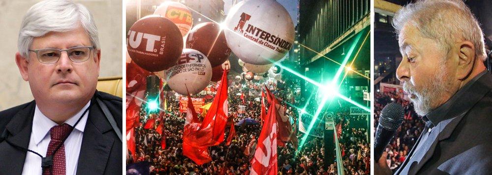 """""""O que poderia ser celebrado como sinal de normalidade institucional – os pedidos do Rodrigo Janot ao STF para abrir inquéritos das delações da Odebrecht – na realidade é apenas um truque do procurador-geral para [i] proteger o bloco golpista, em especial o PSDB; mas, sobretudo, para [ii] viabilizar a condenação rápida do Lula e, desse modo, impedir a candidatura do ex-presidente em 2018, isso se a eleição não for cancelada pelos golpistas"""", alerta o colunista Jeferson Miola, para quemo PGR seguiu fielmente Maquiavel: 'aos amigos, os favores; aos inimigos, a lei'""""; para Miola, """"o êxito dos protestos deste 15 de março é um sinal positivo da retomada da resistência democrática e da luta contra o golpe e os retrocessos"""""""