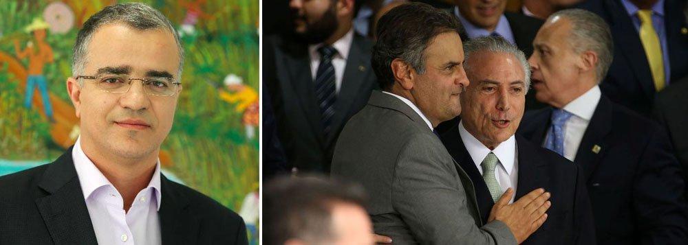 """""""Essa tormenta alcançará figurões do PMDB e do PSDB que usaram o discurso da corrupção petista para derrubar o governo Dilma"""", diz o colunista Kennedy Alencar sobre os pedidos de abertura de inquéritos que o procurador geral Rodrigo Janot deve fazer; """"A nova lista de Janot deverá criar dificuldades para emplacar uma tese que, no fundo, diz que existe um caixa 2 ideológico, que seria do bem porque usado só para campanha, do caixa 2 da propina, que seria do mal porque utilizado para enriquecimento pessoal. Essa tese diferenciar o caixa 2 tem o objetivo de limitar danos da Lava Jato num momento em que ela se aproxima de tucanos e peemedebistas"""", afirma Kennedy"""