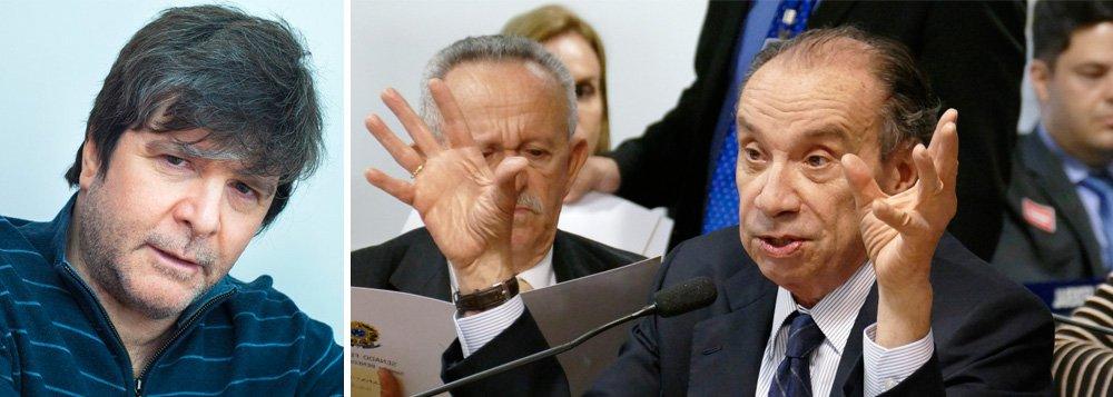 Jornalista e escritor Marcelo Rubens Paiva resgata um episódio ocorrido em maio de 2016, quando o senador Aloysio Nunes (PSDB-MG) mandou um jornalista para a PQP, entre outros xingamentos; assista