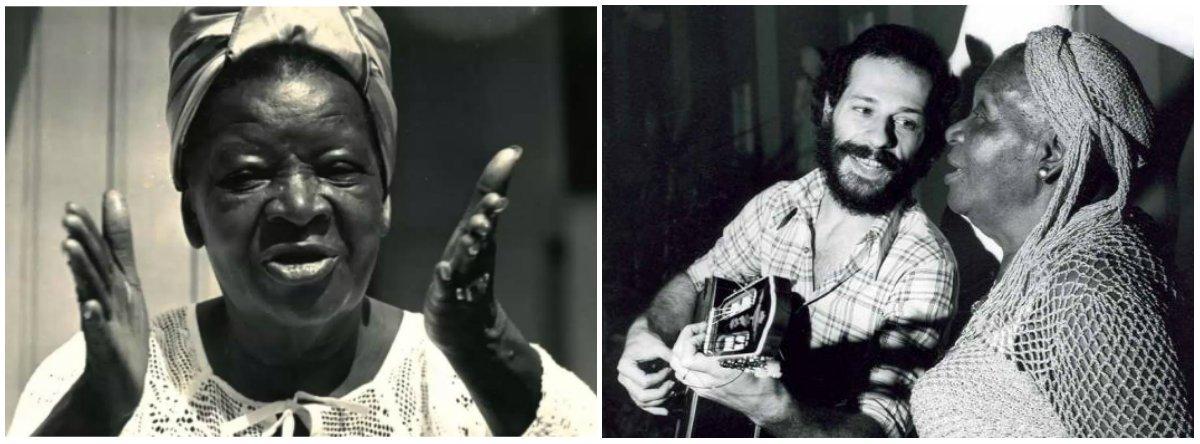 O poeta Hermínio Bello de Carvalho, que lançou a cantora Clementina de Jesus, aos 64 anos, no espetáculo Rosa de Ouro, em 1965, conta que, naquela época, a encontrou cantando numa taberna, em um momento de descontração. Até então, ela trabalhava como empregada doméstica de uma família no Rio de Janeiro. Este ano, 2017, a morte da cantora completa três décadas e em fevereiro, se viva, ela teria completado 116 anos