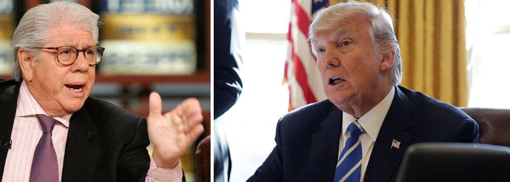 """Carl Berstein, que ajudou a expor o envolvimento do ex-presidente norte-americano Richard Nixon no escândalo do Watergate, classificou os ataques de Donald Trump à imprensa como """"mais traiçoeiros"""" que aqueles proferidos pelo predecessor; em entrevista à rede CNN, Carl Bernstein disse que a retórica de Trump traz à mente """"ditadores e autoritários, incluindo Stalin e Hitler""""; """"Não há consenso cívico neste país como havia na época do Watergate, sobre uma conduta presidencial aceitável"""", afirmou o jornalista. """"Trump está por conta própria, conduzindo um ataque demagógico às instituições da democracia. Estamos em terríveis tendências autoritárias"""""""