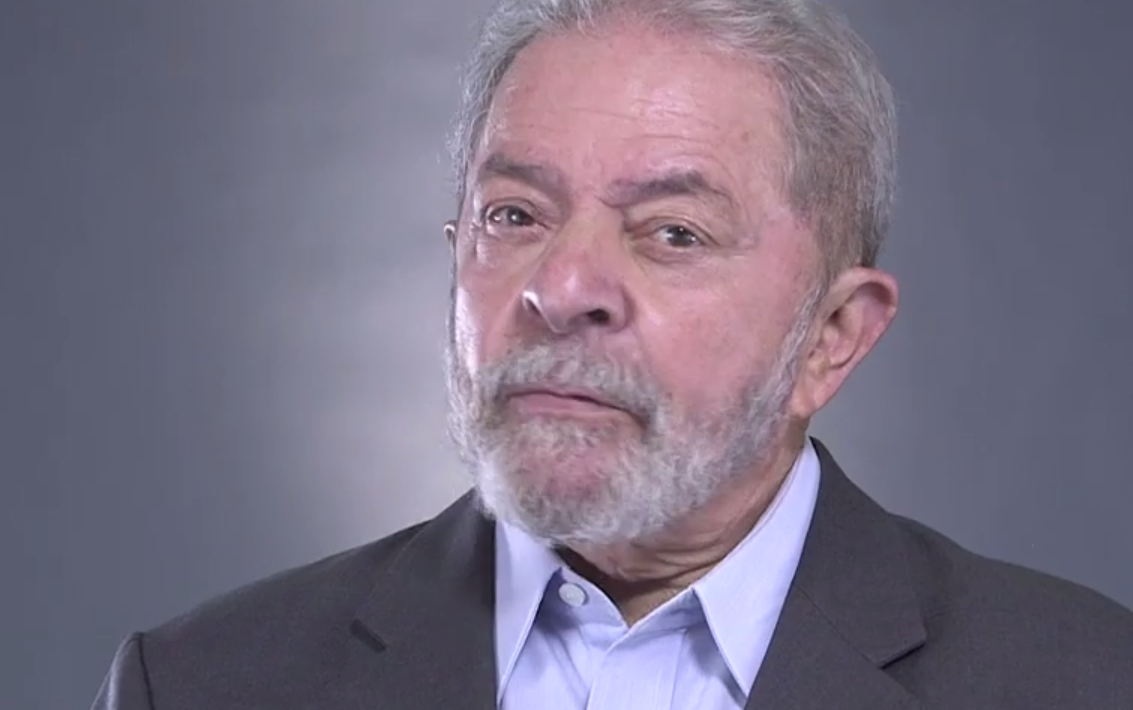 Lula na propaganda do PT