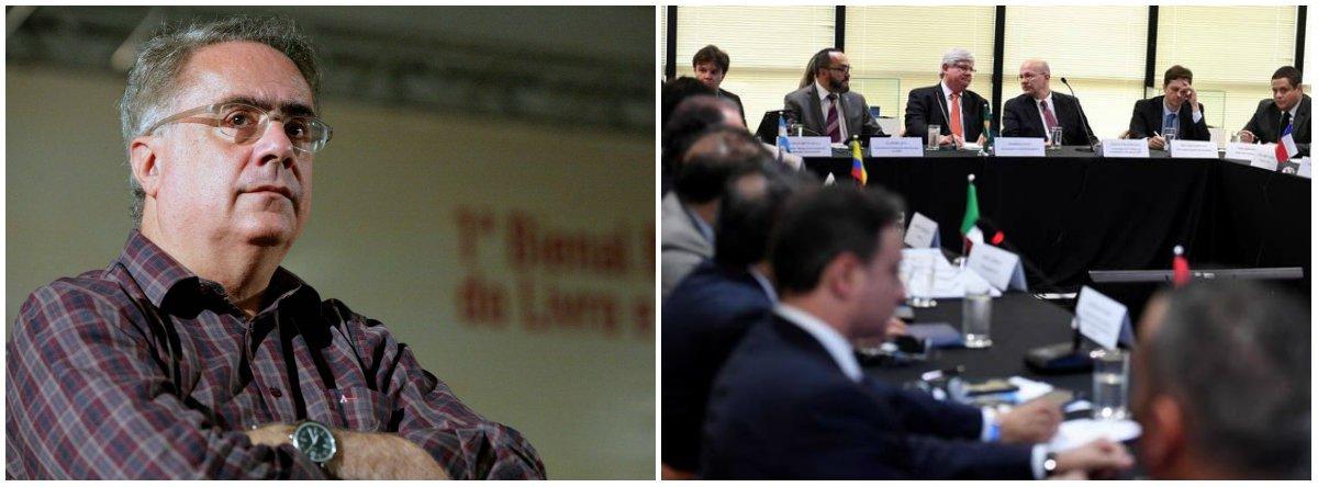 """Jornalista Luis Nassif afirma ter ouvido de um procurador """"que o MPF acertará acordos de leniência, visando poupar as empresas""""; """"Ora, os acordos só foram acertados quando as empreiteiras jaziam exangues, sem capital de giro, sem projetos, proibidas de operar com o BNDES e com o mercado externo sendo demolido – pelo MPF e pelo próprio BNDES"""", escreve Nassif"""
