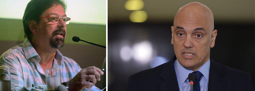 """Jornalista Florestan Fernandes Júnior criticou nesta sexta-feira, 17, o ministro licenciado da Justiça, Alexandre de Moraes, por ter sido indicado ao Supremo Tribunal Federal (STF) por Michel Temer; """"Como um escritor que plagiou trechos inteiros de outro autor e publicou o 'crime' intelectual tem condições de ser Ministro da Suprema Corte de um país? Só mesmo em republiquetas de quinta. Infelizmente o Brasil voltou a frequentar esse seleto grupo"""", criticou Fernandes em sua página no Facebook"""