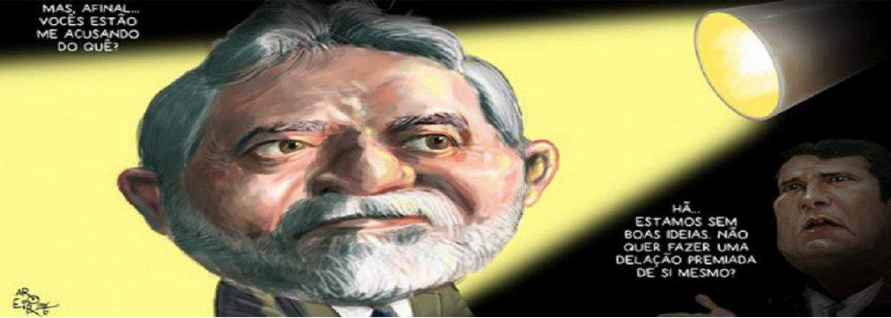 """Jornalista Fernando Brito, editor do Tijolaço diz que """"virou ridículo"""" a """"perseguição"""" ao ex-presidente Lula. Segundo ele, com o leque de denúncias se exaurindo, """"a munição para atacar Lula vai baixando o calibre""""; """"Mas sempre há a guarda dos caixotes num depósito, para provar o favorecimento de Lula, embora o Dr. Moro não se interesse e não autorize saber como foram guardados os caixotes de FHC, de Sarney ou ao menos os de Itamar Franco"""", diz Brito"""