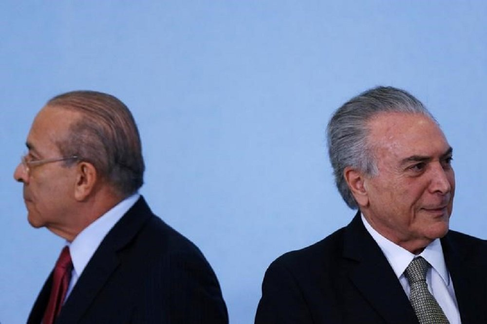 Ministro da Casa Civil, Eliseu Padilha, e o presidente Michel Temer 25/08/2016 REUTERS/Ueslei Marcelino