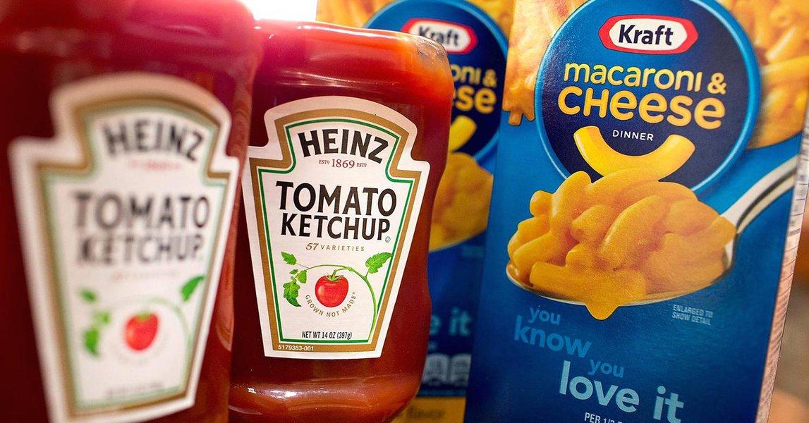 """A Kraft Heinz anunciou em comunicado, nesta sexta-feira, que a Unilever recusou uma proposta de fusão. O valor proposto, de acordo com o Financial Times, era de US$ 143 bilhões; no texto, a Kraft Heinz disse que procura criar uma empresa """"líder com missão de crescimento de longo prazo e vida sustentável"""""""