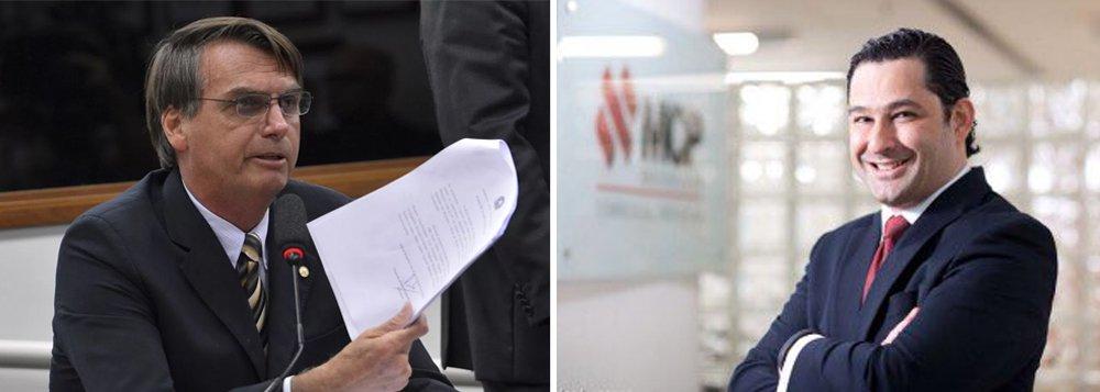 Empresário que organizou a palestra de Jair Bolsonaro no clube A Hebraica, Alexandre Nigri, militou pelo impeachment de Dilma; o judeu que propôs o encontro com Bolsonaro escreveu diversos artigos defendendo o impeachment da presidente Dilmar Rousseff; um abaixo-assinado que recebeu mais de 2,7 mil assinaturas protestou contra a palestra, que acabou sento cancelada; leia trecho de artigo em que Nigri defende seu triunvirato do liberalismo: o ex-presidente FHC, o banqueiro Roberto Setúbal, dono do Itaú, e o empresário Jorge Paulo Lemann, o homem mais rico do Brasil atualmente