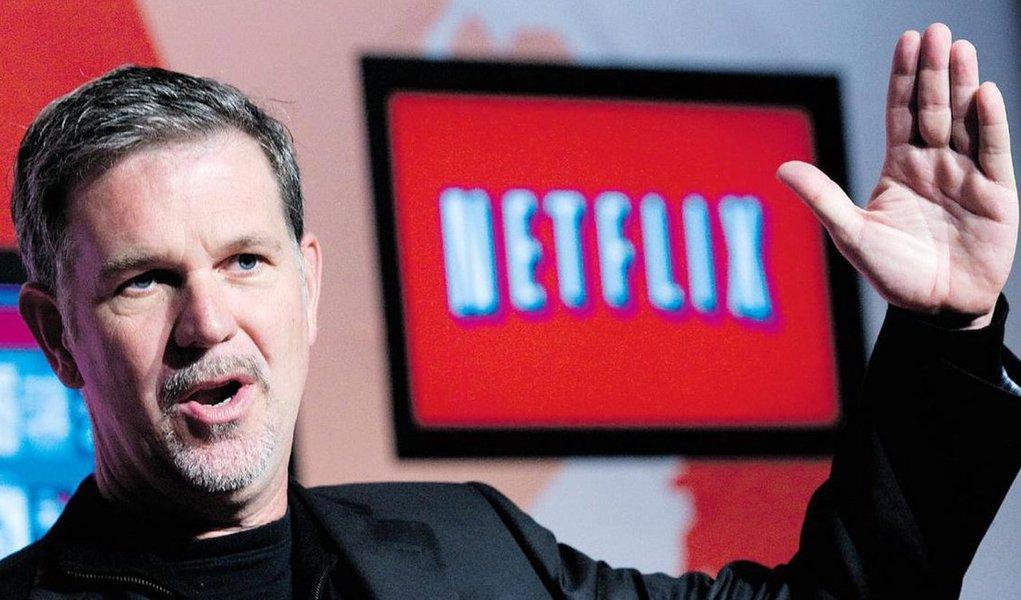 De 10 a 20 anos, 90% do que as pessoas vão assistir estará online, afirma o presidente e cofundador da Netflix,Reed Hastings; o serviço de streaming já ultrapassou a marca de 90 milhões de usuários