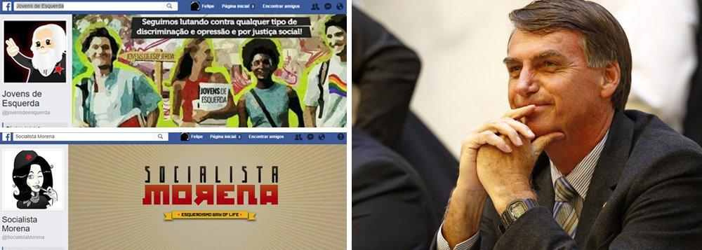 """""""Covardes e mal resolvidos"""", comenta a jornalista Cynara Menezes, administradora da página Socialista Morena no Facebook, uma das que foram invadidas; outra página hackeada na rede social foi a Jovens de Esquerda; grupo ameaça fazer o mesmo com a Quebrando o Tabu"""