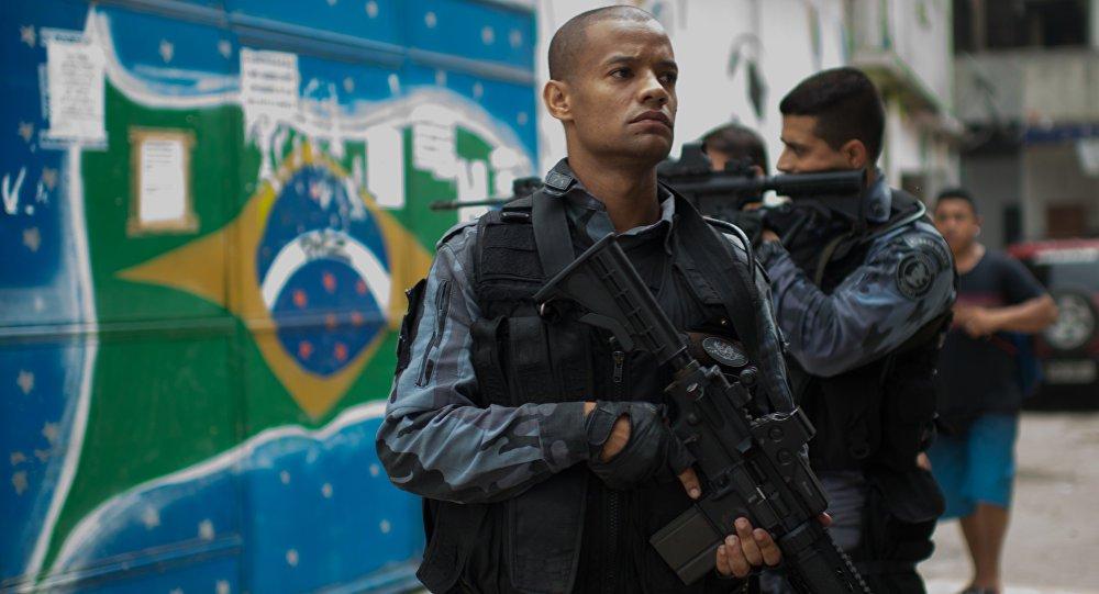 Protesto PM Rio