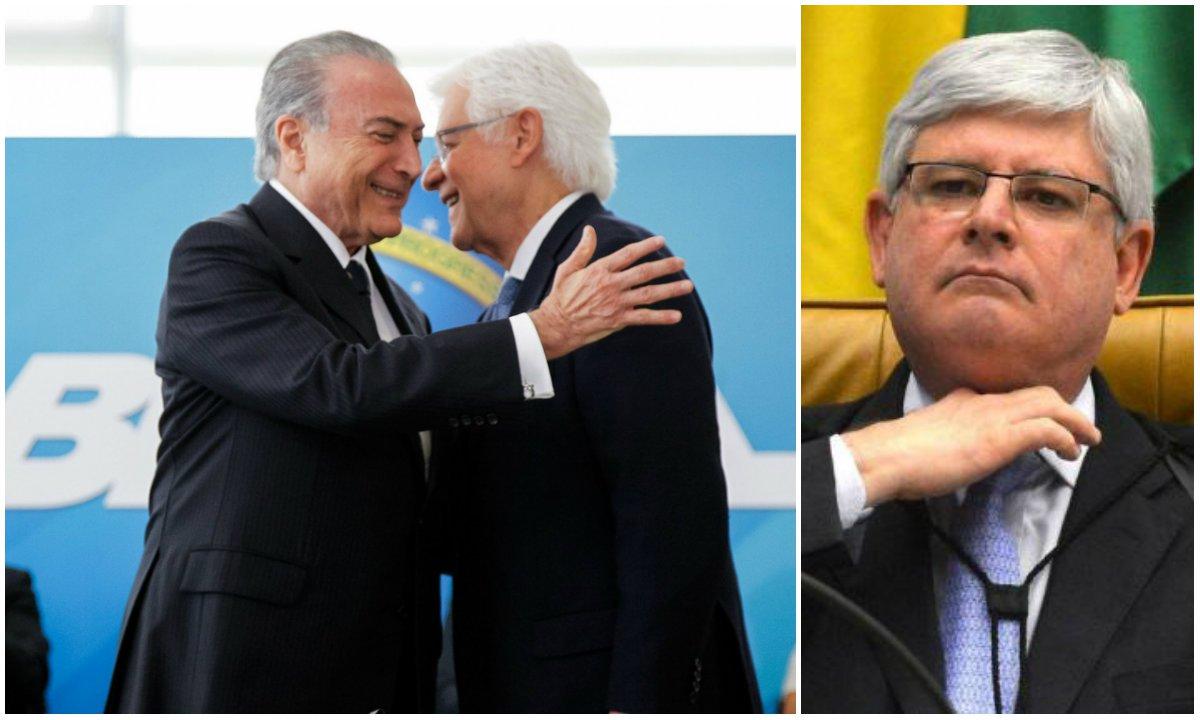 """""""Está com ele, parada, desde segunda-feira da semana passada, uma 'Representação para Ajuizamento de Ação' na Justiça contra o ato que deu foro privilegiado ao 'Angorá' da lista da Odebrecht, proposta pelos deputados Wadih Damous (RJ) e Paulo Pimenta (RS), ambos do PT, pedindo que ele adote medidas para suspender, em caráter liminar, a nomeação de Moreira Fraco para o cargo de Ministro"""", lembra o jornalista Fernando Brito, do Tijolaço"""